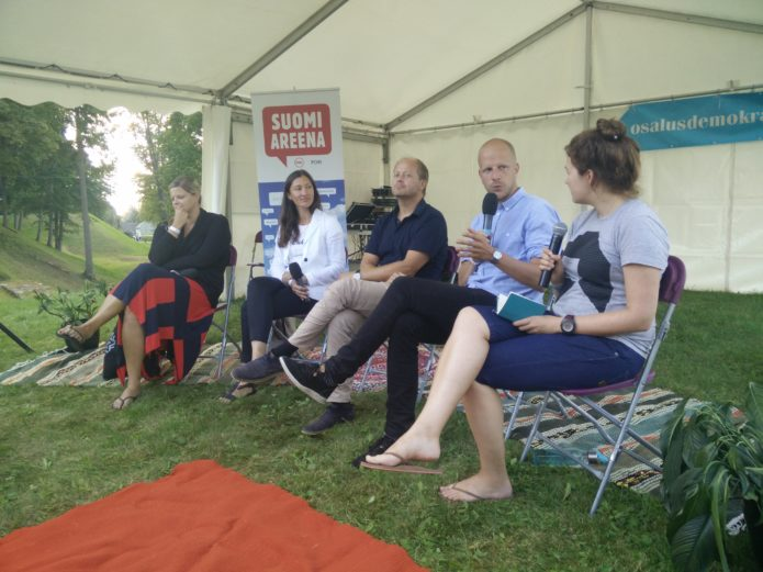 Discussion at Opinion Festival